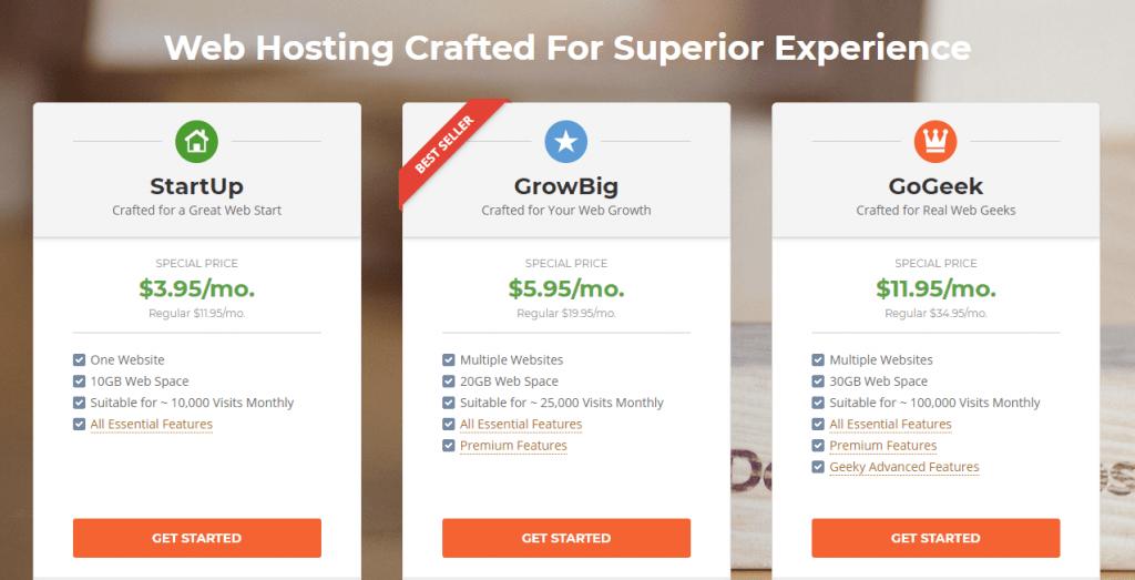 web hosting for blogs