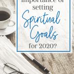 setting spiritual goals