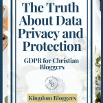 GDPR for Christian Blogs