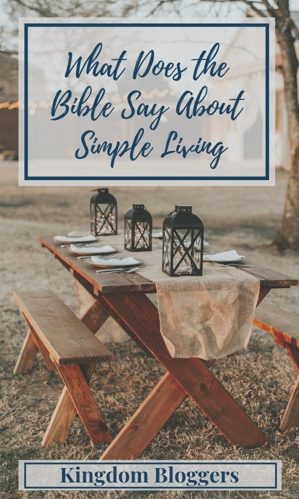 Bible Verses About Simple Living
