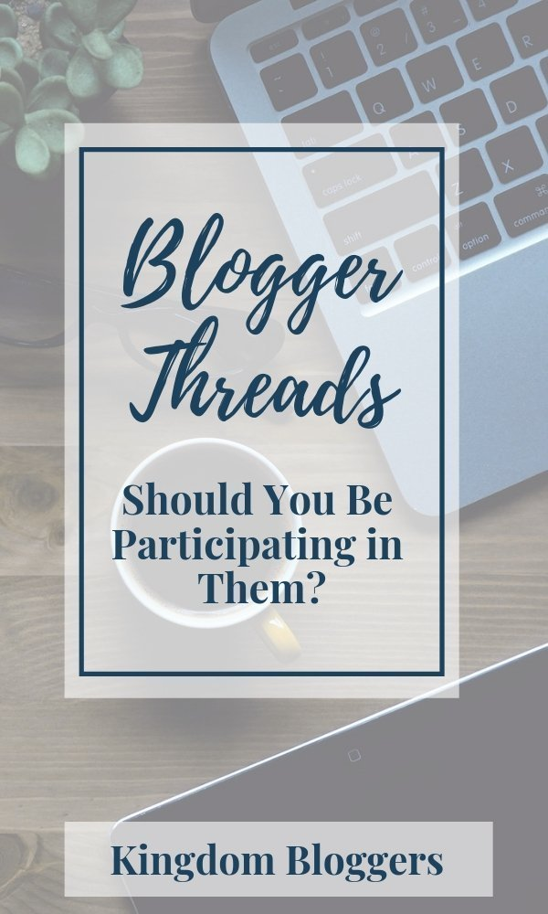 The Truth About Blogger Threads