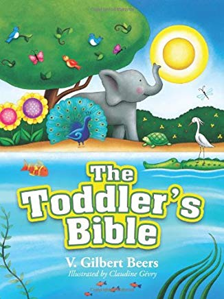 The Toddlers Bible book cover