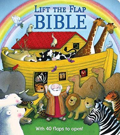 Lift the Flap Bible Cover
