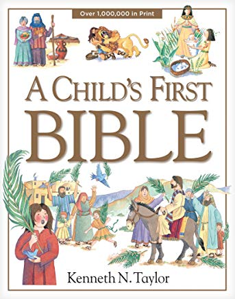 a child's first bible book cover