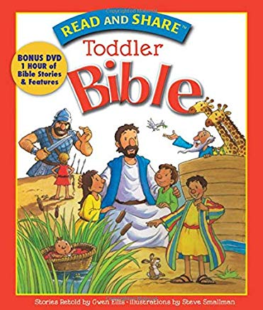 Read and Share Toddler Bible cover