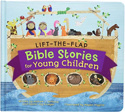 Lift the Flap Bible Stories for Toddlers cover
