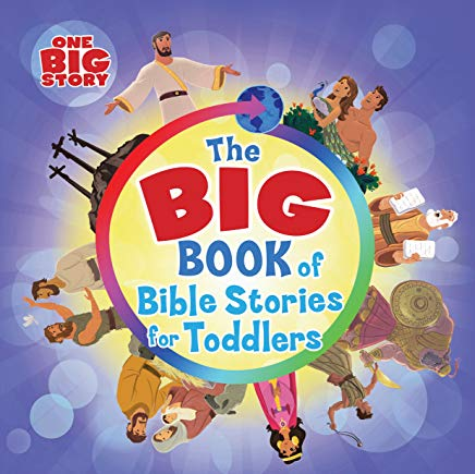The Big Book of Bible Stories for Toddlers book cover