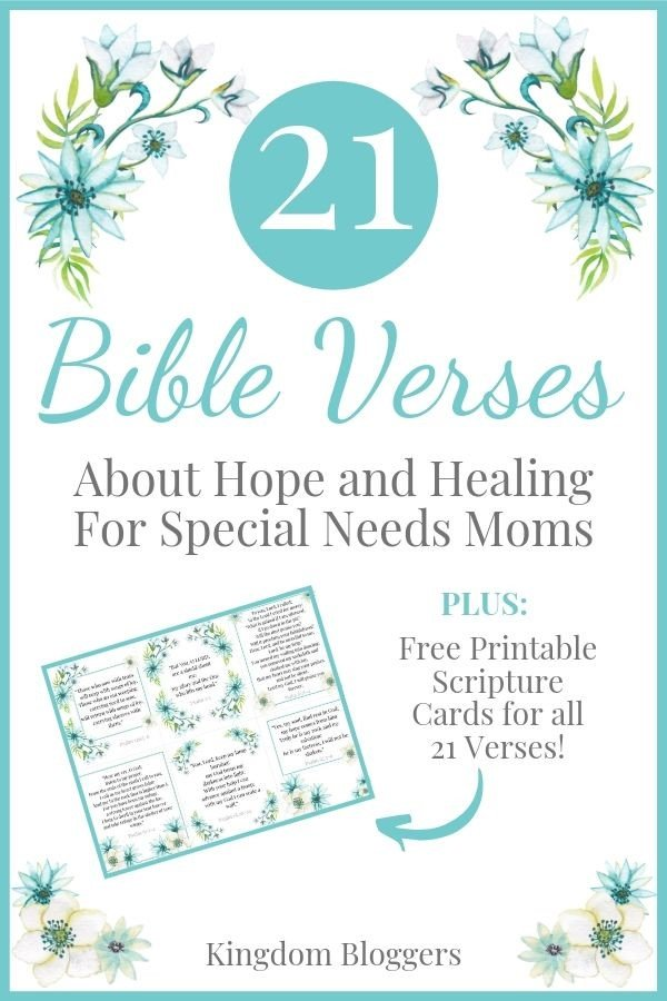 Psalms about Hope and Healing