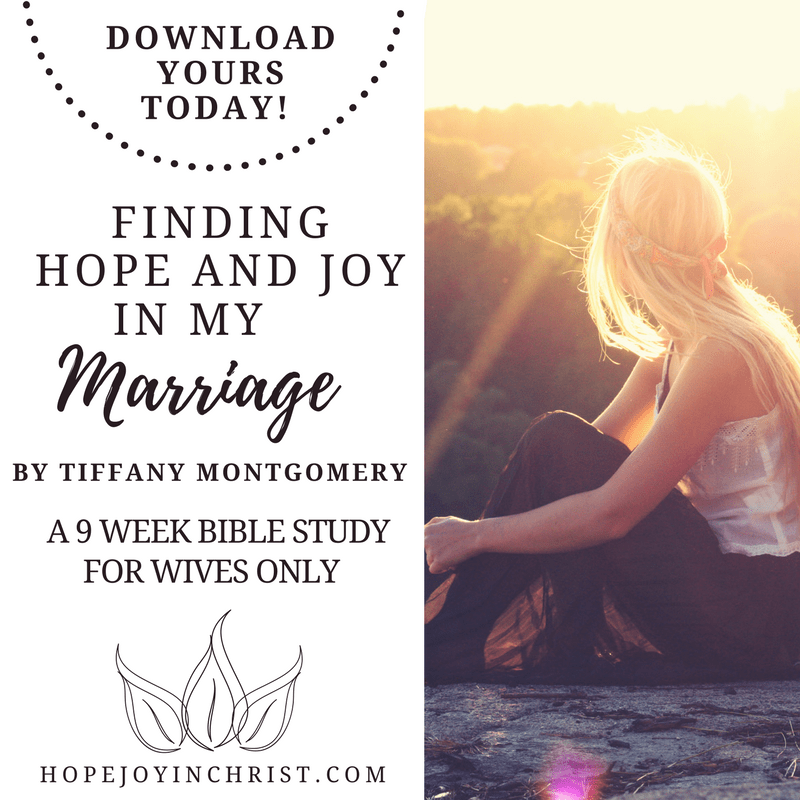 hope and joy in marriage course promo poster