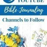 youtube bible journaling
