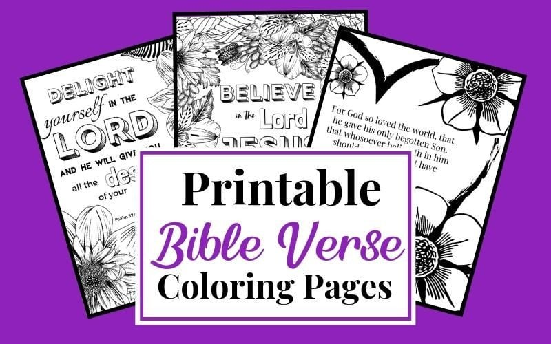 Free Printable Bible Verse Coloring Pages For Women And Kids - Kingdom  Bloggers