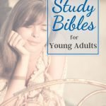 study bibles for young adults