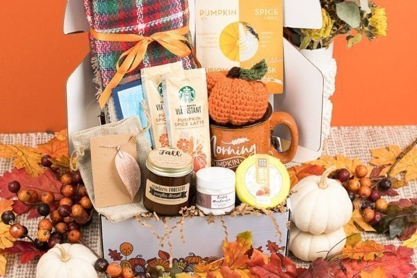 a Hopebox christian subscription box filled with faith inspired goodies