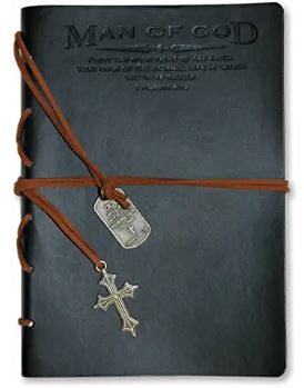 man of god leather journal