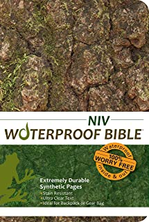 niv waterproof bible for men