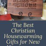 Christian housewarming gift cutting board