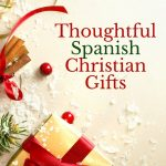spanish christian gifts under a tree
