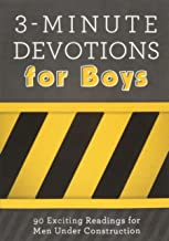 black and yellow devotion book for boys