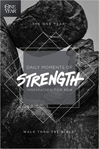 daily moments of strength devotional book for men