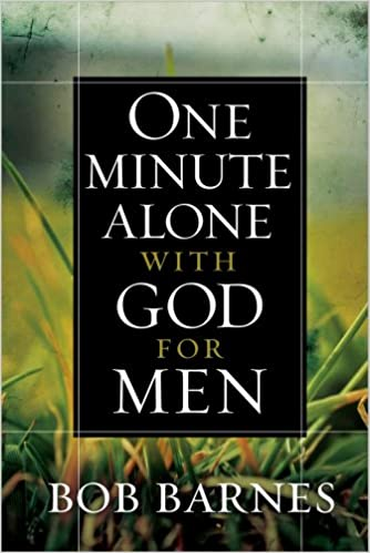one minute with god for men devotional book