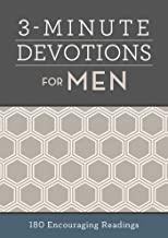3-minute devotion book for men