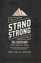 stand strong devotional book for men