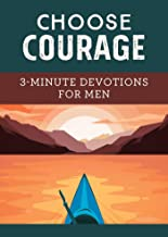 choose courage devotional book for men