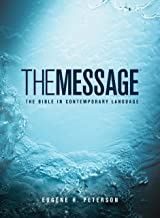 Blue The Message Bible