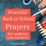 Back to School Prayers for Students and Teachers