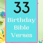 Birthday Bible Verses on a festive background