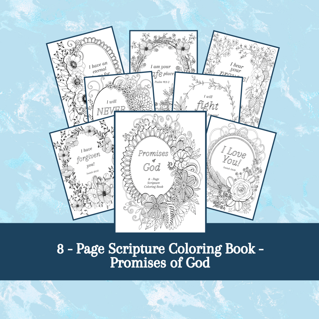 Free Printable Bible Verse Coloring Pages For Women And Kids Kingdom Bloggers