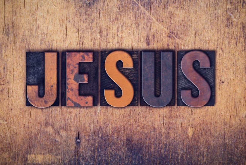 Banner-with-the-letters-JESUS-across-it