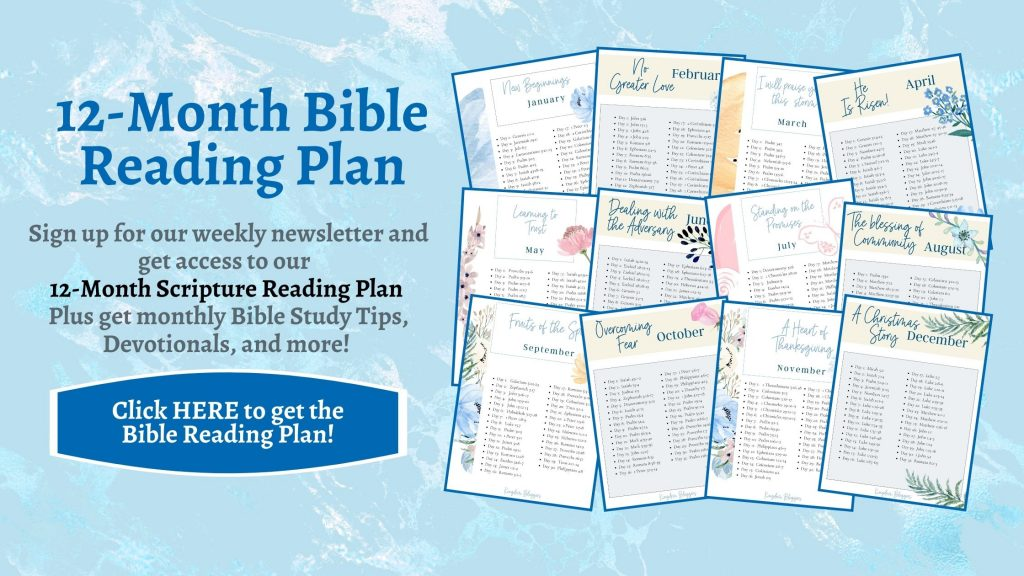 Bible-Reading-Plan-Signup-Form