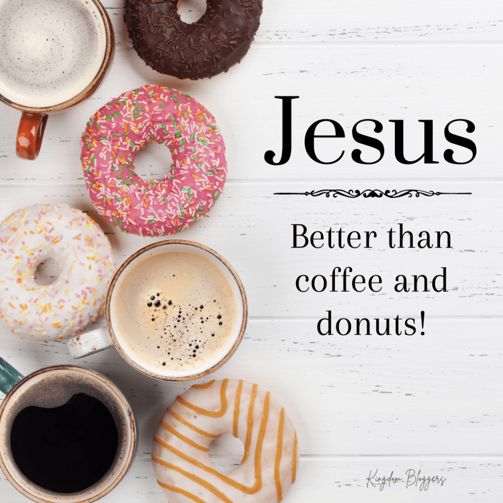 donuts and coffee on a grey wooden background
