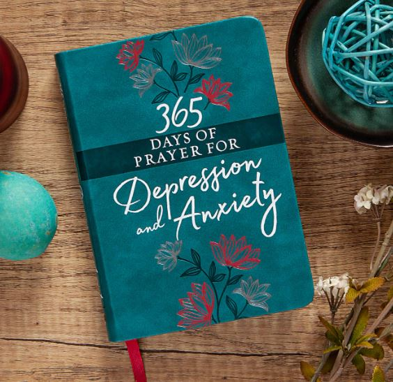 365 Days of Prayer for Anxiety and Depression