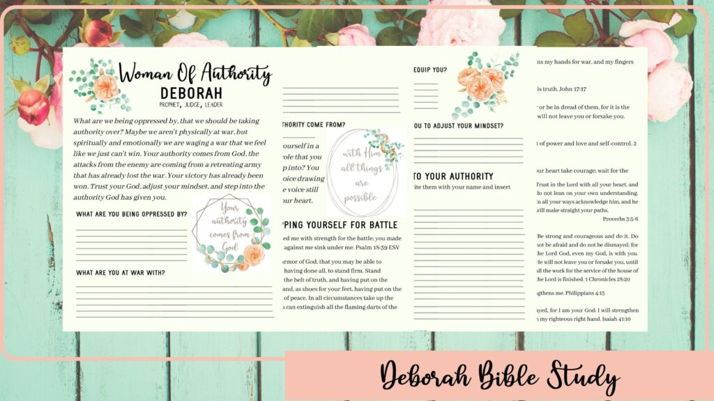 Deborah Bible Study Mock-up