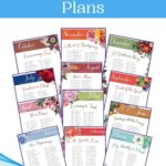 Monthly Scripture Writing Plans mockup