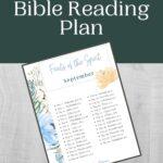 Septempber Bible Reading Plan mockup