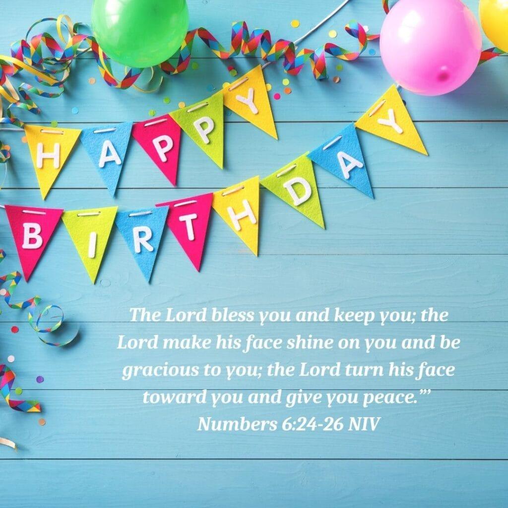 Birthday Bible Verse