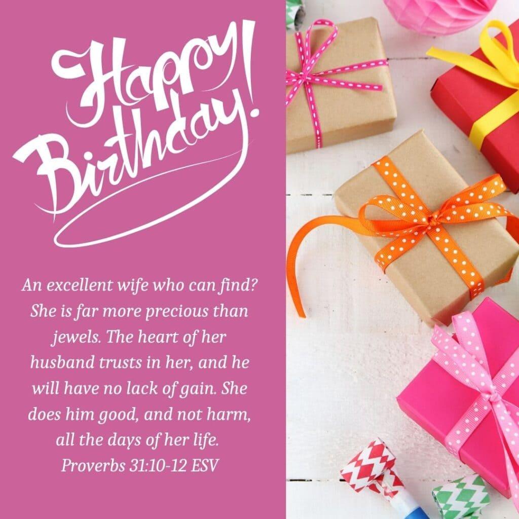 Birthday Bible Verses