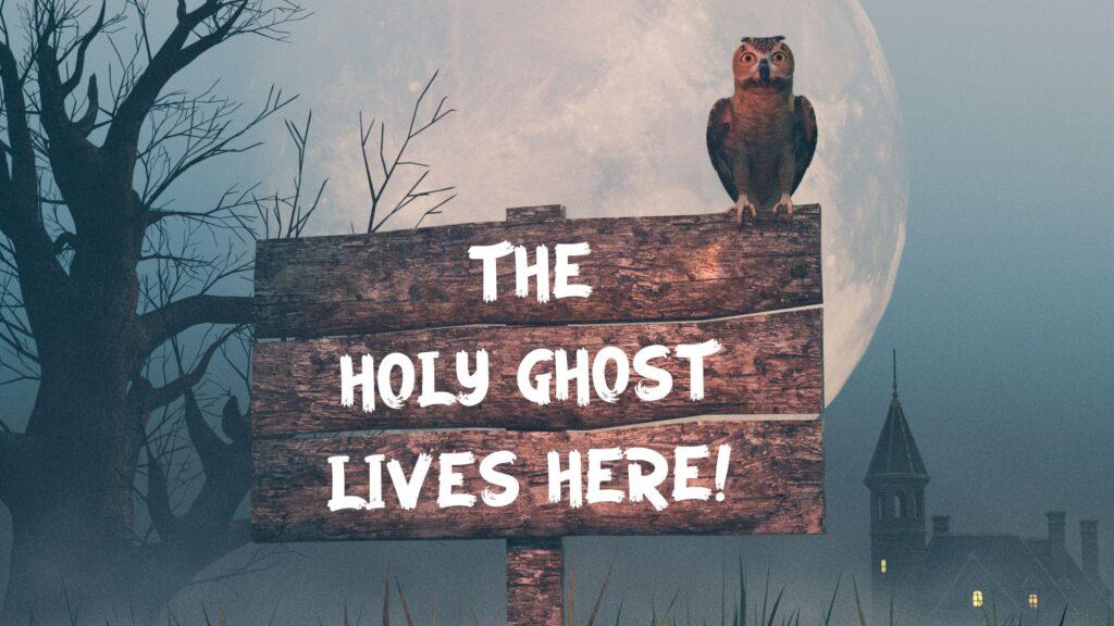 Christian Halloween yard sign