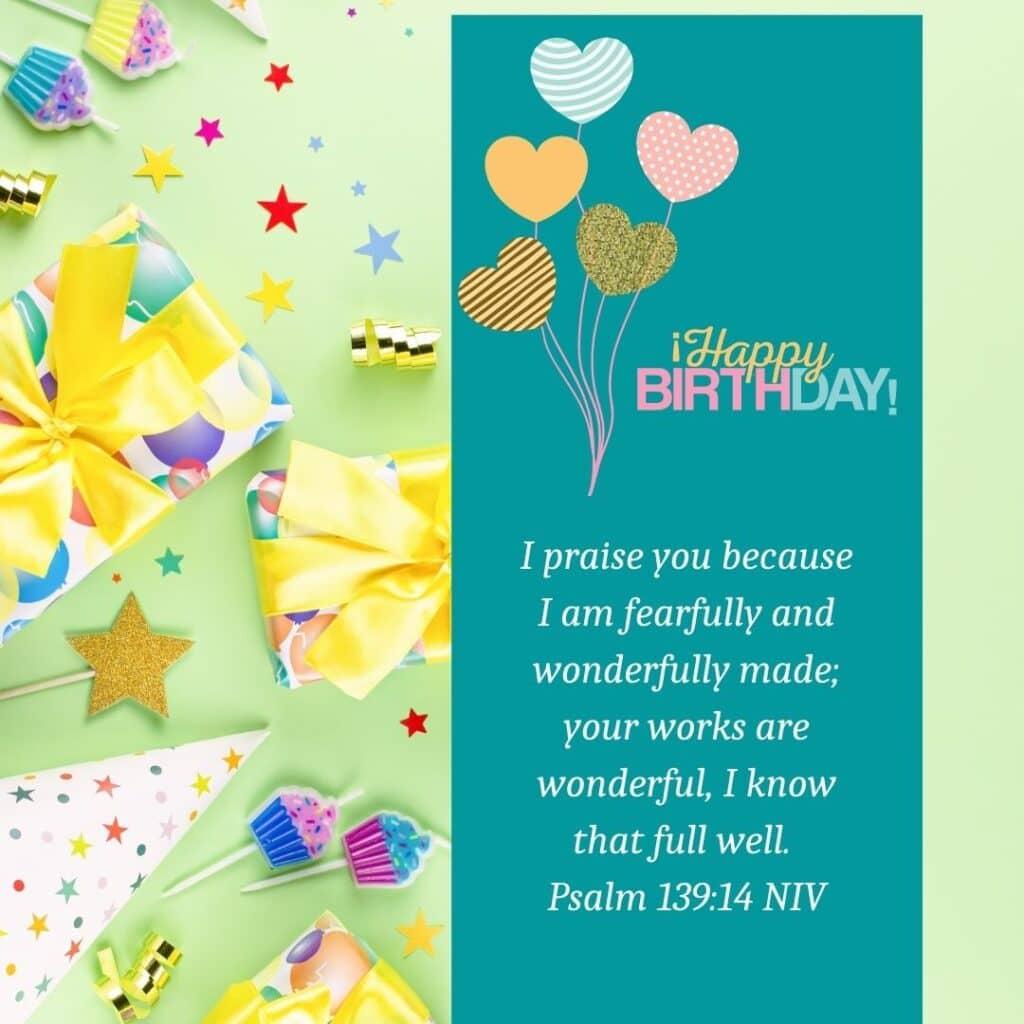 Happy Birthday Scripture