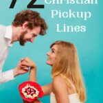 a guy asking a girl on a date using funny Christian pickup lines