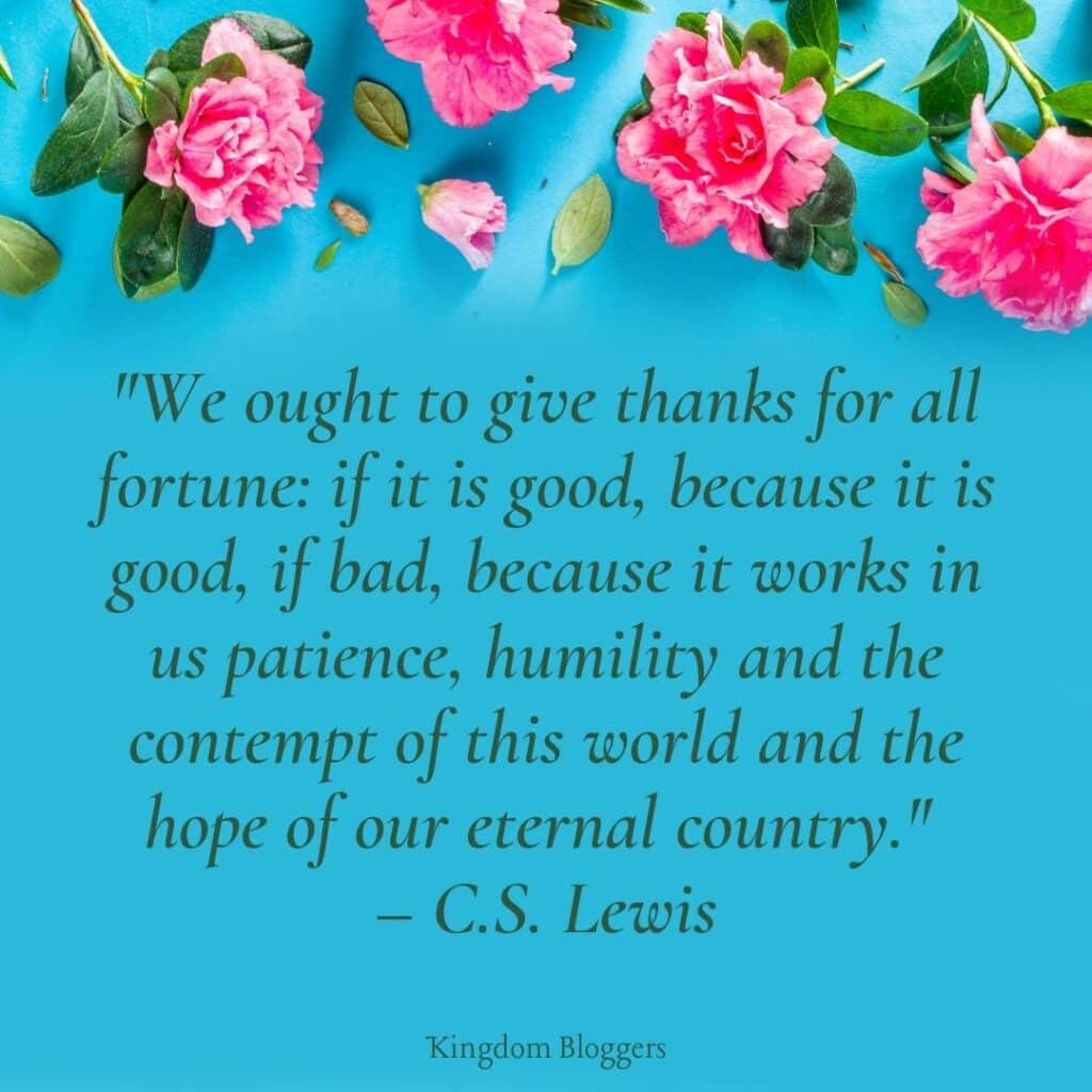 Thank God for the Gift of Life Quote